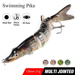Swimming Pike Lure